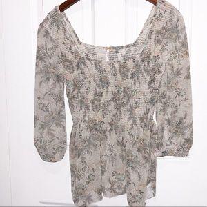 Free people blouse size Medium